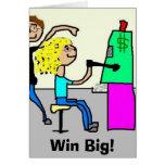 Win Big! Greeting Card