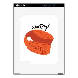 Win Big! iPad 2 Skins