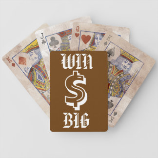 Win BIg Playing Cards