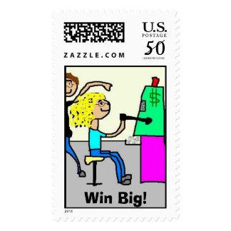 Win Big! Postage