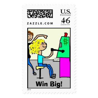 Win Big Postage Stamp