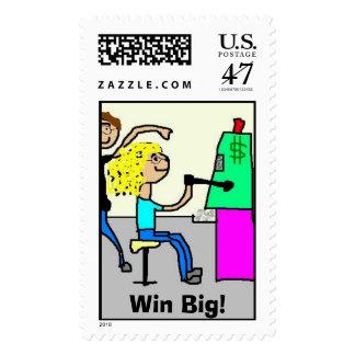 Win Big! Stamp