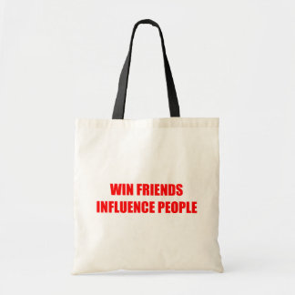 Win Friends Influence People Bag