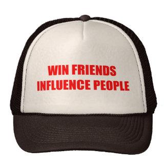 Win Friends Influence People Trucker Hat