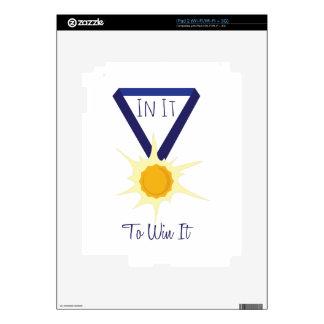 Win It iPad 2 Decal