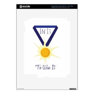 Win It iPad 3 Decal