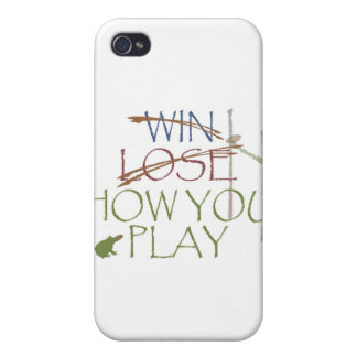 Win / Lose / How You Play iPhone 4 Covers