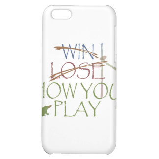 Win / Lose / How You Play iPhone 5C Cases