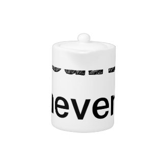 win or learn never lose teapot