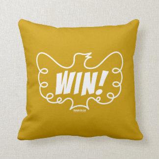 Win! Throw Pillow