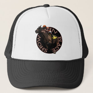 Win, Place, Show - Horse Racing Gear Trucker Hat