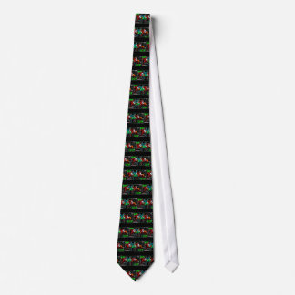 win place show horse racing neck tie