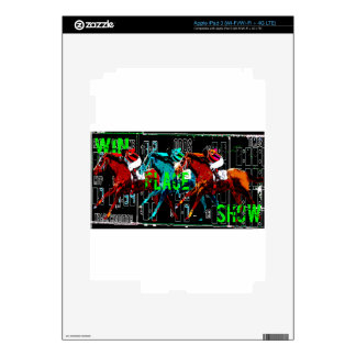 win place show horse racing skin for iPad 3