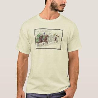Win Place Show Race Horses T-Shirt