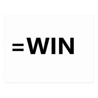 =win postcard
