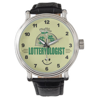 Win the Lottery! Funny Lottery Player's Watch