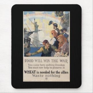 Win The War World War II Mouse Pad