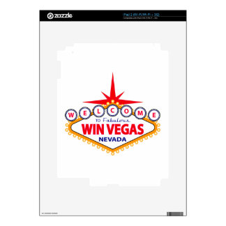 Win Vegas Decals For The iPad 2