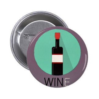 Win Wine 2 Inch Round Button