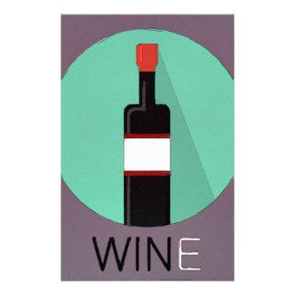 Win Wine Stationery