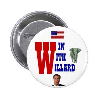 Win With Willard 2012 Button