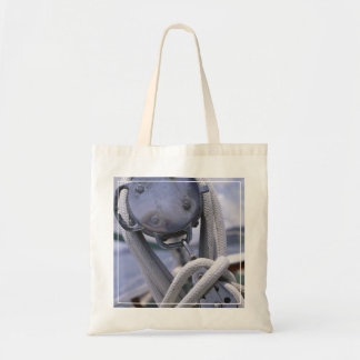 Winch On Boat Tote Bag