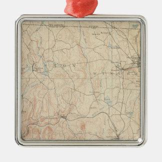 Winchendon, Massachusetts Metal Ornament