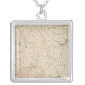 Winchendon, Massachusetts Silver Plated Necklace
