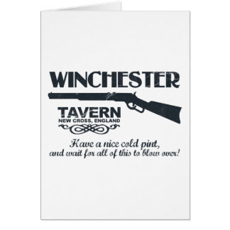 Winchester Beer Card