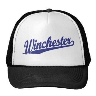 Winchester Blue Trucker Hat