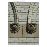 Winchester Carved Rosettes Greeting Card