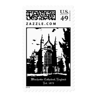 Winchester Cathedral England Postage Stamp
