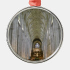 Winchester Cathedral Metal Ornament