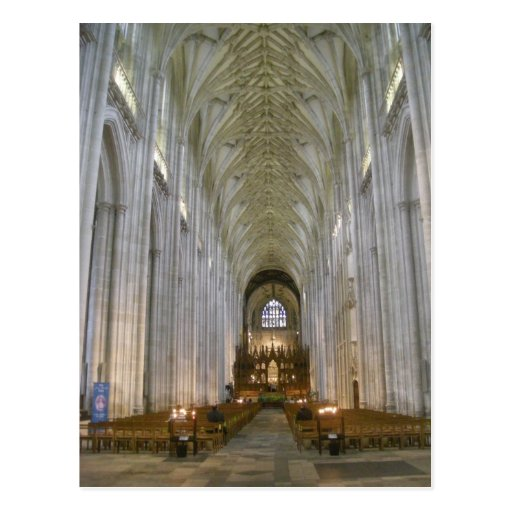 Winchester Cathedral Postcard