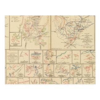Winchester, Cedar Run, Port Republic, Va Postcard