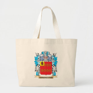 Winchester Coat of Arms - Family Crest Jumbo Tote Bag