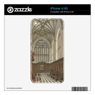 Winchester College Chapel, from 'History of Winche iPhone 4 Skin