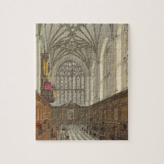 Winchester College Chapel, from 'History of Winche Puzzle