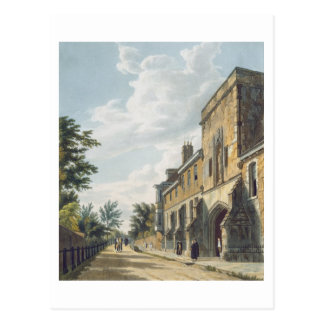 Winchester College Entrance with the Warden's Hous Postcard