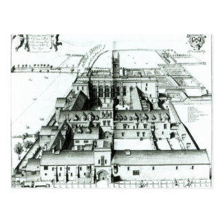 Winchester College Postcard
