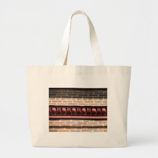 Winchester Egg and Dart Molding Large Tote Bag