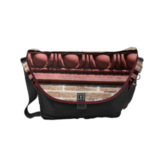Winchester Egg and Dart Molding Small Messenger Bag