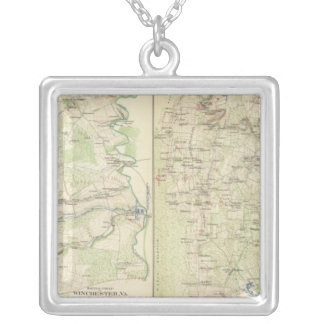 Winchester, Fisher's Hill, Cedar Creek Silver Plated Necklace