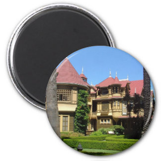 Winchester House 2 Inch Round Magnet