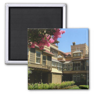 Winchester House 2 Inch Square Magnet