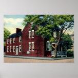 Winchester Virginia Cannon Ball House Print