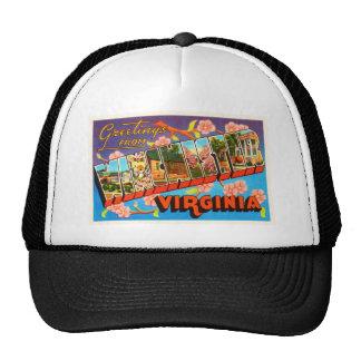 Winchester Virginia VA Old Vintage Travel Postcard Trucker Hat