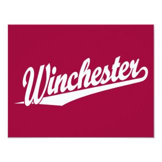 Winchester white card