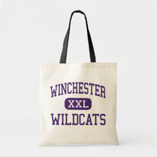 Winchester - Wildcats - High - Winchester Illinois Budget Tote Bag
