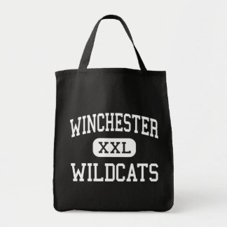 Winchester - Wildcats - High - Winchester Illinois Grocery Tote Bag